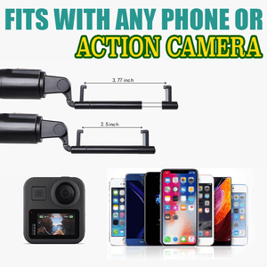 3 In 1 Tripod Wireless Action Cam Selfie Stick