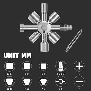 10 In 1 Universal Cross Torque Wrenches