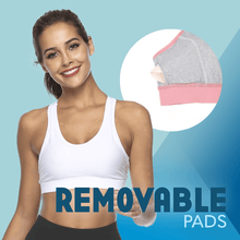 Load image into Gallery viewer, Comfy Pocket Sports Bra