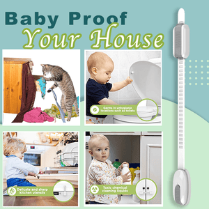 Traceless Adhesive Child Safety Lock