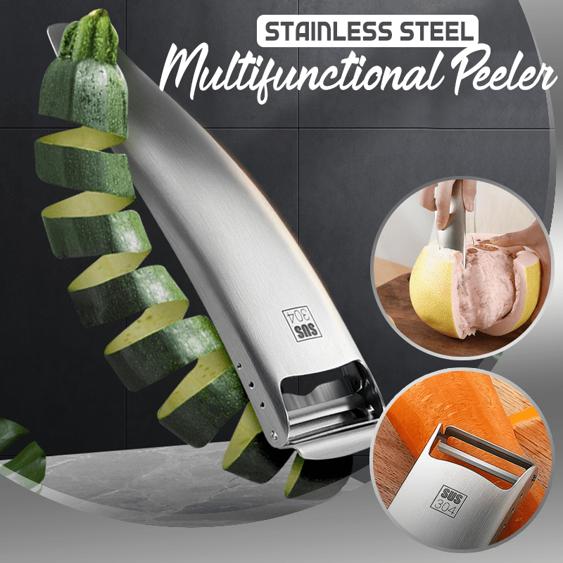 Stainless Steel Multifunctional Peeler