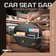 Load image into Gallery viewer, Car Seat Gap Leather Storage Box