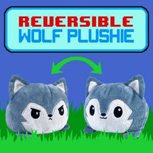 Load image into Gallery viewer, Reversible Wolf Plushie
