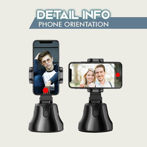 360 Rotation Auto Face Object Tracking Phone Mount