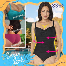 Load image into Gallery viewer, Hourglass Fit Full Body Swimsuit