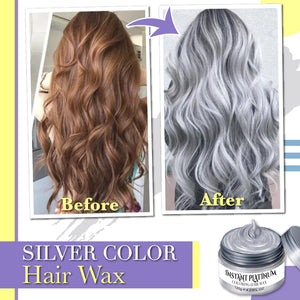 Instant Platinum Coloring Hair Wax