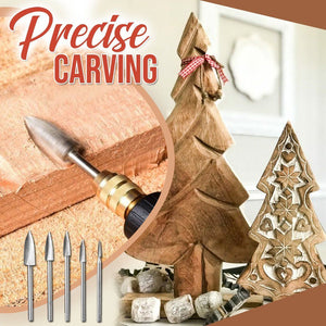 Woodwork Carving Engraving Drill Set