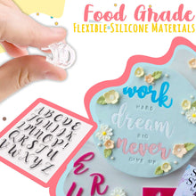Load image into Gallery viewer, Alphabet Cake Stamp Set