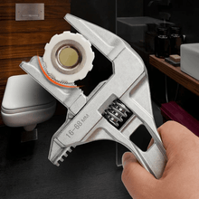 Load image into Gallery viewer, Bathroom adjustable wrench