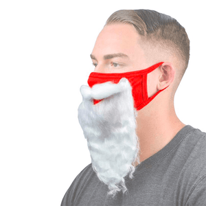 2020 Santa Claus Face Costume
