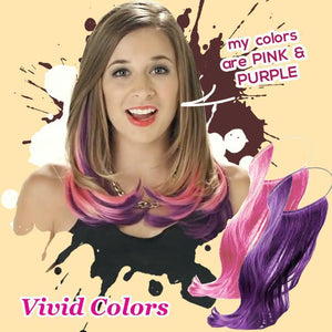 Clip-on Vivid Highlight Hair