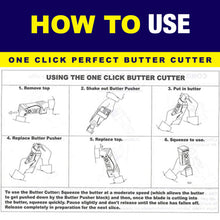 Load image into Gallery viewer, One Click Perfect Butter Cutter