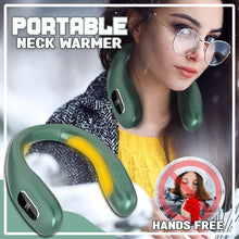 Load image into Gallery viewer, USB Charging Hanging Neck Warmer