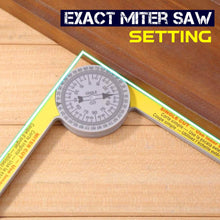 Load image into Gallery viewer, Professional Miter Saw Protractor