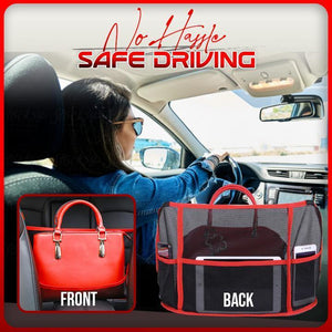 Premium Car Net Handbag Storage Bag