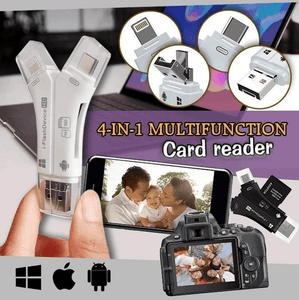 4 in 1 iFlash Pro Drive Card Reader