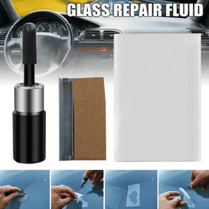 Automotive Glass Nano Total Repair Fluid Kit