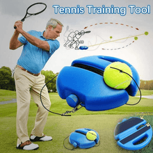 Load image into Gallery viewer, Solo Tennis Trainer Set