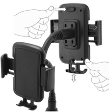 Load image into Gallery viewer, Universal Adjustable Cup Holder Phone Mount