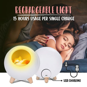 Pet House Rechargeable LED Night Light