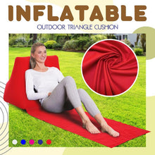 Load image into Gallery viewer, Inflatable Outdoor Triangle Cushion