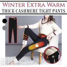 Load image into Gallery viewer, Winter Extra Warm Thick Cashmere Tight Pants
