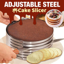 Load image into Gallery viewer, Adjustable Steel Cake Slicer 1688