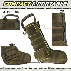 Christmas Tactical Stocking Bag 1688
