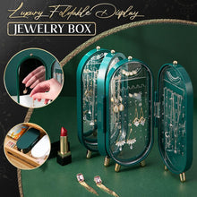 Load image into Gallery viewer, Luxury Foldable Display Jewelry Box