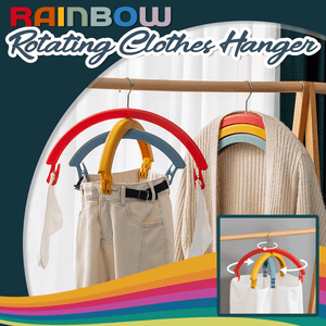 Rainbow Rotating Clothes Hanger