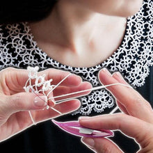 Load image into Gallery viewer, Shuttle Crochet Tatting Tool