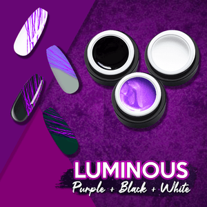 LUMINOA 3D Spider Nail Gel