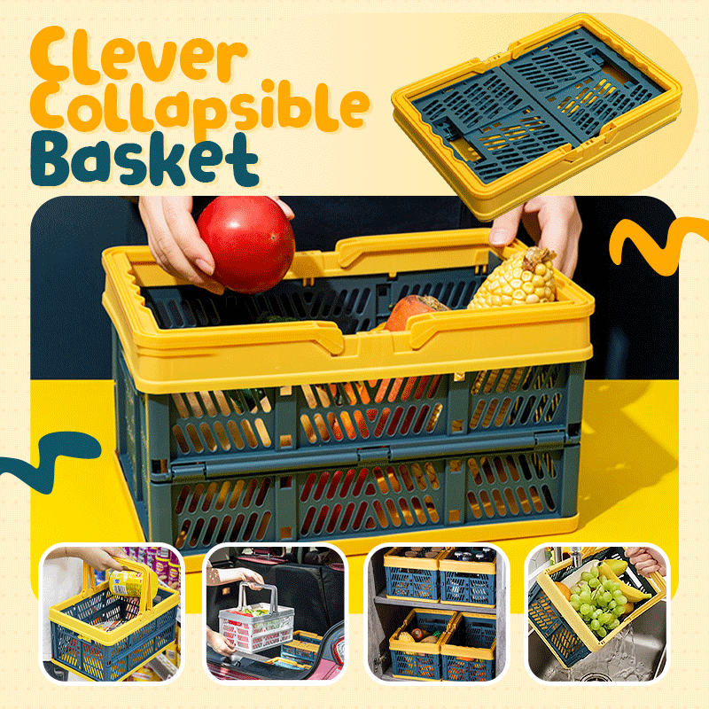 Clever Collapsible Basket