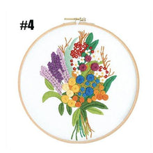 Load image into Gallery viewer, Hand Floral Embroidery Beginner Kit