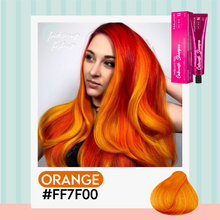 Load image into Gallery viewer, Iridescent Instant Color Changing Shampoo 1688 Orange