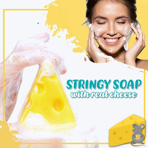 Stringy Cheese Cleansing Soap