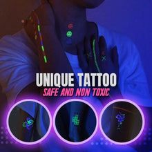 Load image into Gallery viewer, Neon Light Magical Tattoo Sticker