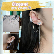 Load image into Gallery viewer, Stunning One-Piece Drop Earring Cuff