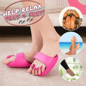Contour Enhancing Half Palm Massage Slippers