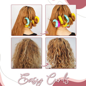 Donut Hair Natural Curlers (14Pcs Set)