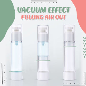 Airless Pump Vacuum Storage Sub Containers