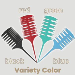 Hair Coloring Sectioning Comb