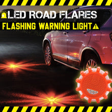 Load image into Gallery viewer, LED Road Flares Flashing Warning Light 1688