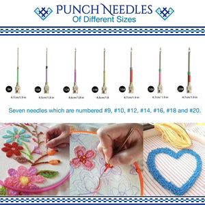 Pop Magic Embroidery Needle Kit harmoninie