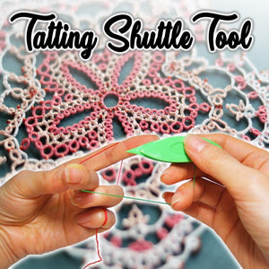 Shuttle Crochet Tatting Tool