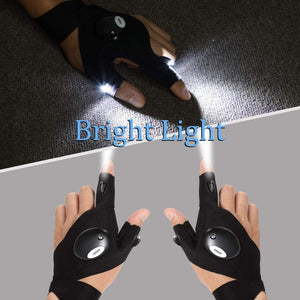 Flashlight Water-Resistant Gloves