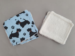 Reusable Makeup Wipes - Little Dog Design