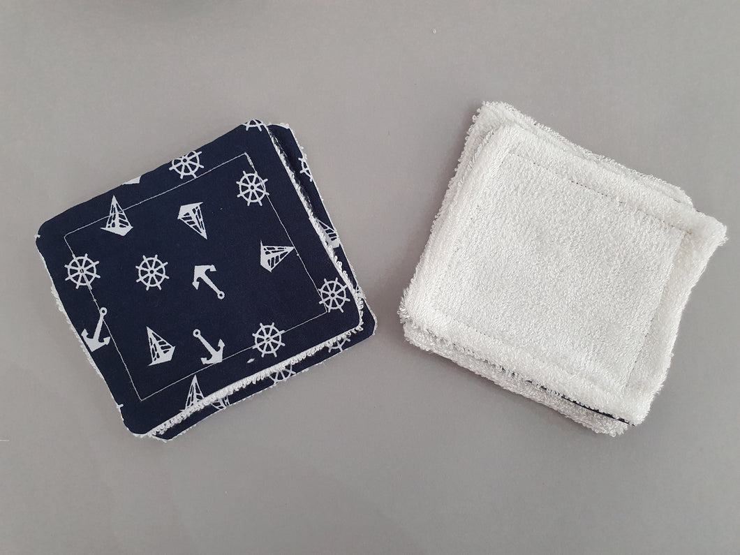 Reusable Makeup Wipes - Anchor Design