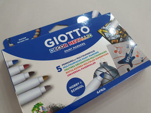 Giotto Decor Metallic Paint Marker Pack