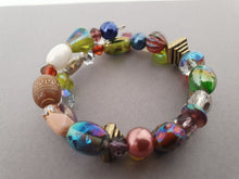 Load image into Gallery viewer, Assorted Shape Beaded Bracelet